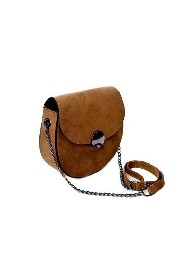 EOZ- Wera polo çanta Çanta Kahve